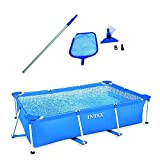 Intex 8.5' x 5.3' x 26' Above Ground Swimming Pool & Cleaning Maintenance Kit