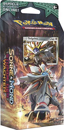 Lively Moments Pokemon Karten Stunde der Wächter Themendeck DE Deutsch Sammelkarten Spielkarten Stahlsonne - Solgaleo