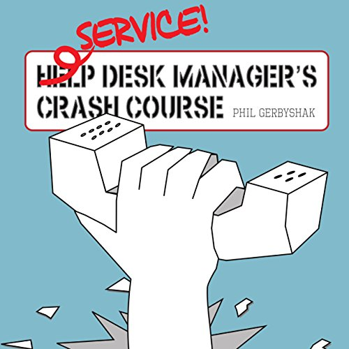 Service Desk Manager's Crash Course audiobook cover art