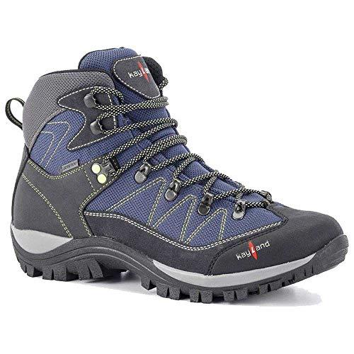 KAYLAND ASCENT K GTX 2019 Gore Trekkingschuhe Wanderschuhe Bergschuhe 018019061(Blau/Grau - blue/grey,42)