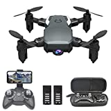 OBEST Mini Dron con Cámara 1080P HD, RC Quadcopter Plegable por App o 2.4GHz Control...