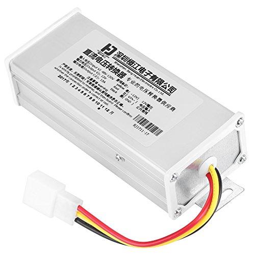 Convertidor de DC a DC Reductor de Voltaje Transformador de Potencia de Entrada 48V-120V Salida 12V 15A 180W para Vehículo Eléctrico