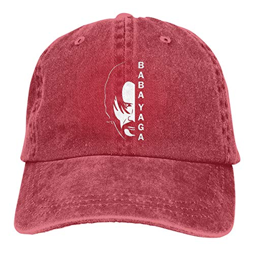 B-shop Baba Yaga&John Wick Denim Cotton Fabric Adjustable Hat