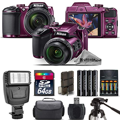 Nikon COOLPIX B500 Plum Camera 40x Optical Zoom +...
