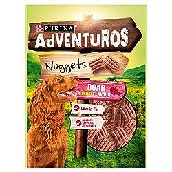 Adventuros Dog Treats Boar Flavour Nuggets 90g (PACK OF 2) 90g (x2) Purina Quantity: 2