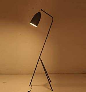 YWLDD Floor Lamps Floor lamp Grasshopper Vintage Creative Living Room Study Bedroom Grasshopper Floor lamp