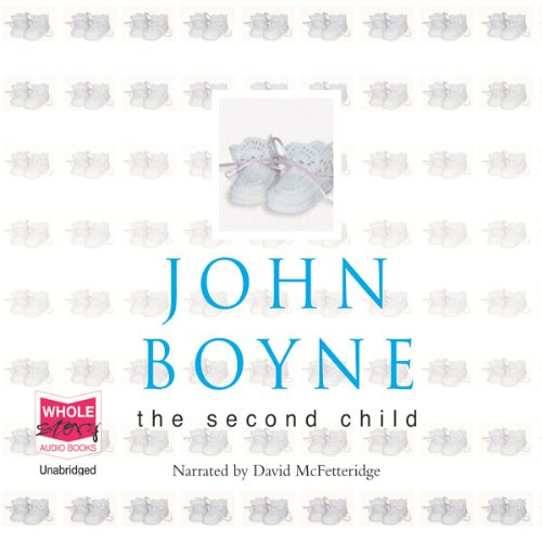 The Second Child audiobook cover art