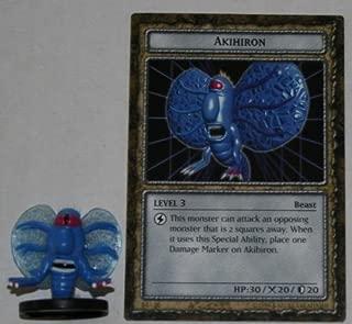 Dungeon Dice B4-06 Akihiron Yugioh Level 3 DungeonDice Series 4 Iron Guardians English Single Figure and Card