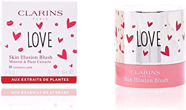 Clarins Skin Illusion Blush Colorete Color 01 Luminous Pink - 4.5 gr
