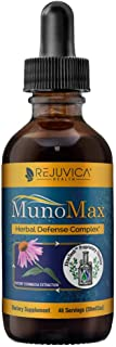 MunoMax - Real Advanced Immune Support - All-Natural Liquid Formula for 2X Absorption - Elderberry, Echinacea, Astralagus,...