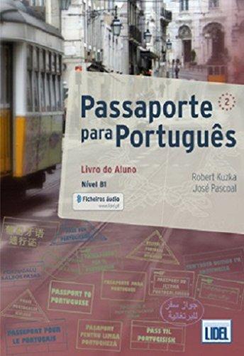 Passaporte para Portugues: Livro do Aluno + ficheiros audio