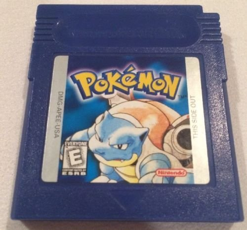 Pokemon Blue Version Game [GameBoy] - NEW SAVE BATTERY SOLDERED IN (no tape)