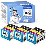 myCartridge - 15 cartuchos de tinta compatibles con Epson 18 18XL para Epson Expression Home XP-202 XP-205 XP-215 XP-225 XP-305 XP-312 XP-322 XP-325 XP-402 XP-405 XP-412 XP-415 XP-425