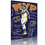 Stephen Curry Canvas Wall Painting, Golden State Splash Brothers Steph Skyfucker Wall Poster Art Print Artwork, Warriors Three-Point Shooter Curry Poster for Fans Gift Living Room Decor (12' Wx18 H)