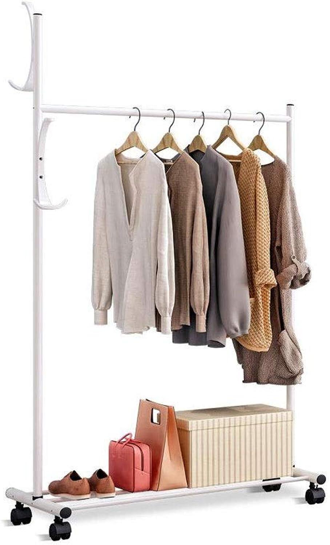 Floor Coat Rack Simple Clothes Shelf Bedroom Living Room Hanger