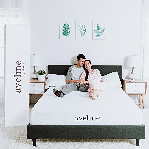 Modway Aveline 10' Gel Infused Memory Queen Mattress With CertiPUR-US Certified Foam, White