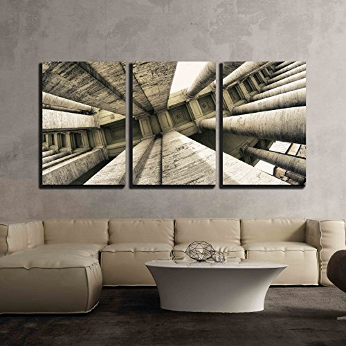 wall26 - St. Peter Square in Rome - Canvas Art Wall Art - 24