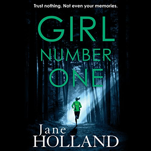 Girl Number One audiobook cover art