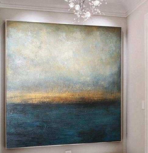 Amazon.com: SEASCAPE, Abstract Decor Painting, Large Abstract