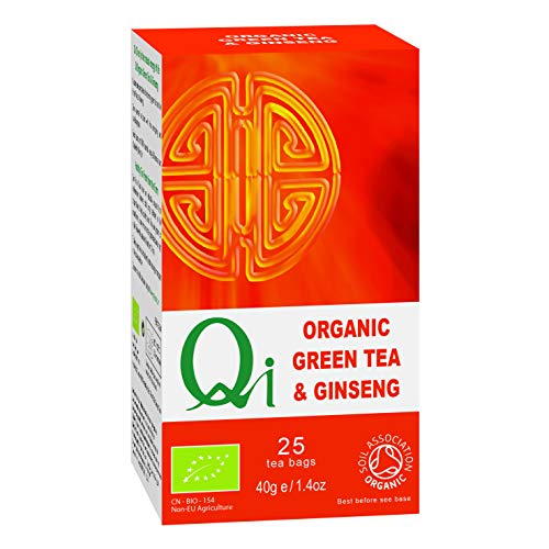 QI - GINSENG GREEN TEA INFUSION 25U. by Qi