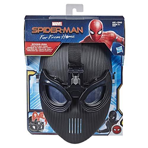 Hasbro Marvel Spider-Man: Far From Home Spider-Man Tarnmaske mit Spider-Blick für Spider-Man Rollenspiele – Superheld Maske Spielzeug