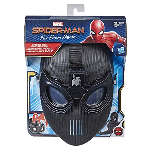 Marvel Spider-Man Far From Home – Accessoire de déguisement - Masque de Spider-Man - Jouet Spider-Man