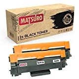 Matsuro Original | Compatible Cartucho de Toner Reemplazo para Brother TN-2420 XXL (2 Negro)