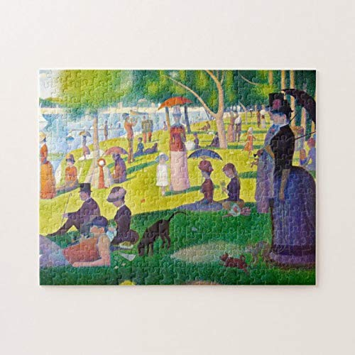 Seurat La Grande Jatte Puzzles for Adults, 1000 Piece Kids Jigsaw Puzzles Game Toys Gift for Children Boys and Girls, 20' x 30'