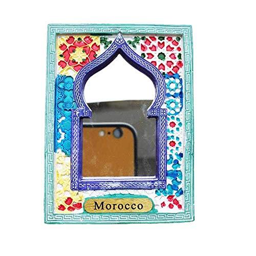 3D-Kühlschrankmagnet, Marokko, Reise-Souvenir, Geschenk, Heimküche, Dekoration, Magnet-Aufkleber