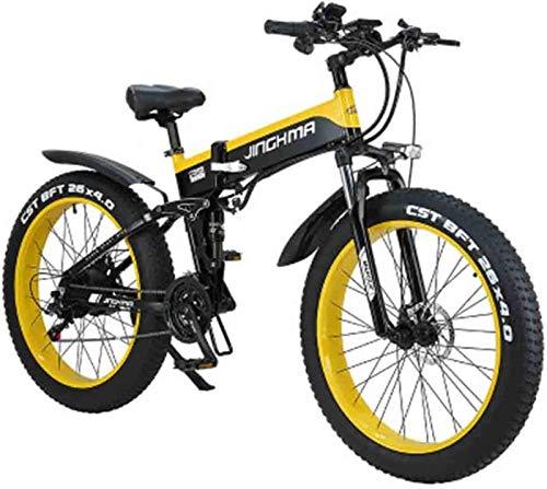 Bicicleta eléctrica Bicicleta eléctrica por la mon 26 pulgadas bicicleta eléctrica plegable...