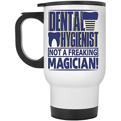 Little Yi Ich Liebe es, EIN Becher für Dentalhygieniker zu Sein, EIN Cooler Becher für Zahnärzte, EIN Becher für Dentalhygieniker, kein Freaking Magician-Becher