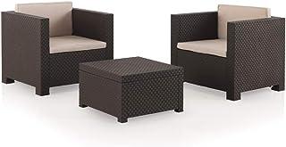 Shaf À Conjunto Set muebles de jardín y terraza Diva tête