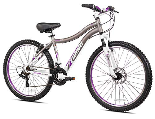 Genesis 26' Whirlwind Women's Mountain Bike, Gray