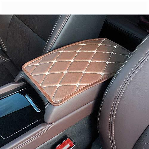 MPOQZI Alfombrilla de Caja de reposabrazos de Consola Central de Coche, Apto para Alfa Romeo 159 BMW E46 E39 E36 E90 Audi A3 A6 C5 A4 B6 B8