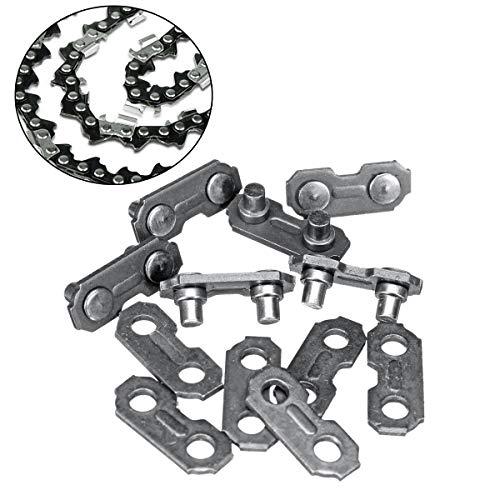 EsportsMJJ 6 stks 3/8 .063 kettingzaag ketting verbinden links zaagketting vervangende onderdelen