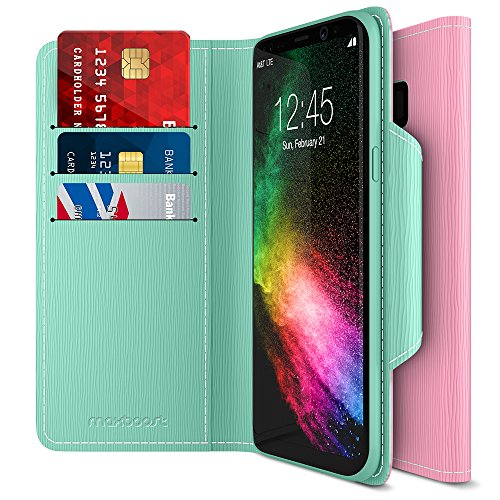 Maxboost Galaxy S8 Leather Flip Cover