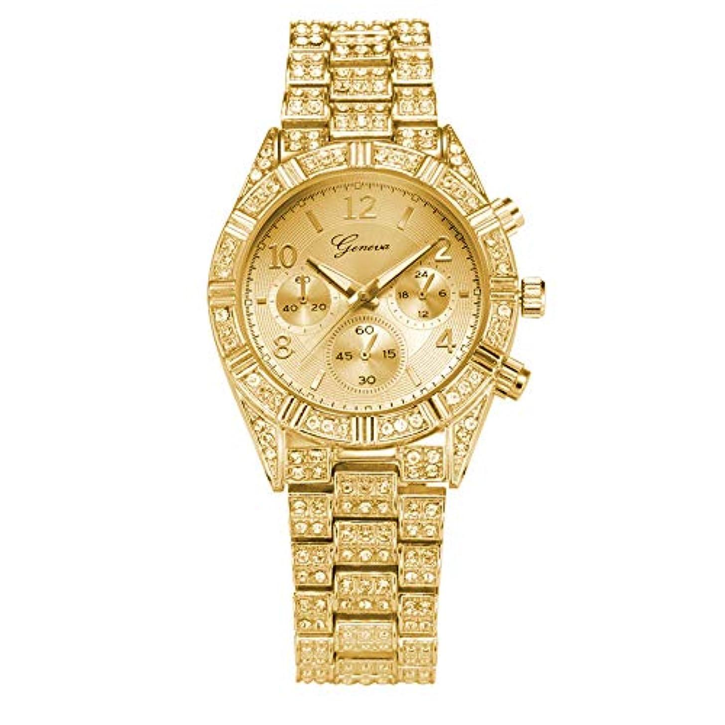 Wrist Watches for Women Under 5 ? Fashion Stainless Steel Geneva Luxury Women Crystal Quartz Analog Wrist Watch