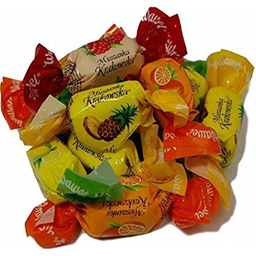 Mieszanka (Mieszkanka) Krakowska / Wawel Chocolate Covered Jelly Candy 1Lb (16oz)