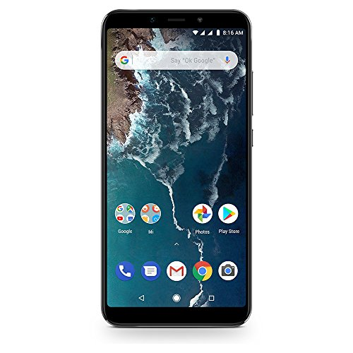 Xiaomi Mi A2 Dual Sim Smartphone from 64 GB, Black