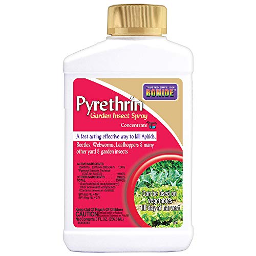 Bonide (BND857) - Pyrethrin Garden Insect Spray Mix, Outdoor Insecticide/Pesticide Concentrate (8 oz.)