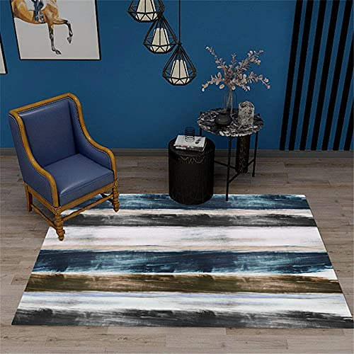 pie de cama Gris Patrón de vendimia rayado borroso de la alfombra gris de salón con alfombras de alfombras rumoreadas alfombra habitacion bebe 120x160cm alfombra juegos bebe 3ft 11.2''X5ft 3''