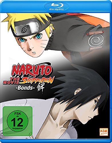 Naruto Shippuden The Movie 2: Bonds DVD by Junko Takeuchi ...