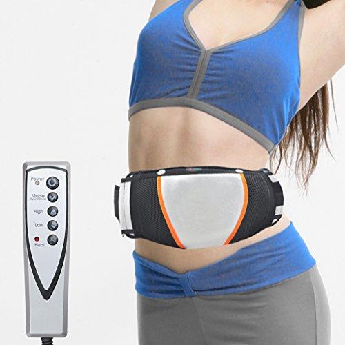 Careshine, cintura snellente elettrica per bruciare i grassi della pancia, per perdere peso, vibrante, dimagrante cintura massaggiante per esercizi e fitness