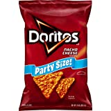 15 oz. bag of Doritos Nacho Cheese Flavored Tortilla Chips Crunchy chips and boldness make DORITOS snacks awesome and great for your pantry Crunchy and delicious tortilla chips in a large size bag for your next party or get together Tortilla chips fl...