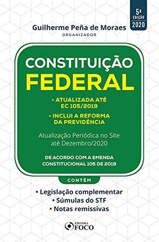 Constituição federal: 5ª Edição - 2020
