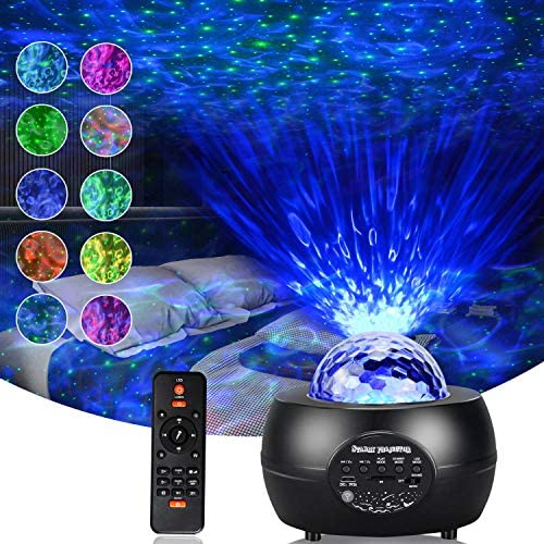 Romwish Star Projector Galaxy Projector with Remote Control 3 in 1 Starry Night Light with LED product image
