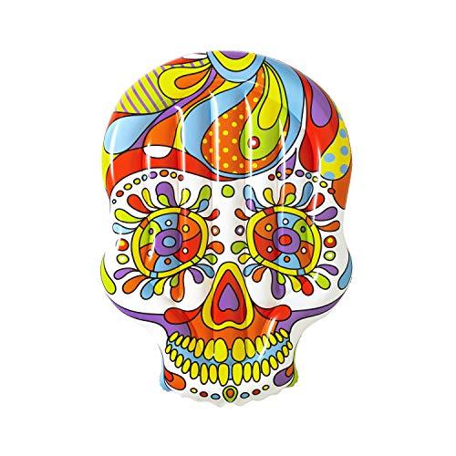 Bestway 43194 - Isla Hinchable Calavera Mexicana Fiesta Skull 193x141 cm