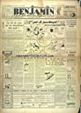 BENJAMIN [No 387] du 08/04/1937 - LA VIE DE CEUX QUI NE TRAVAILLENT PAS ASSIS - LE...