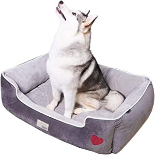 Dog Crate Mattress Extra Large - Waterproof Orthopedic Dog Bed with Soft Washable Cover,XL