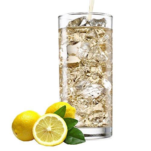 Zitrone Geschmack extrem ergiebiges Getränkepulver für Isotonisches Sportgetränk Energy-Drink ISO-Drink Elektrolytgetränk Wellnessdrink